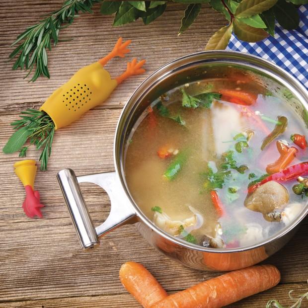 Infuzor pentru supă Le Crock Coq