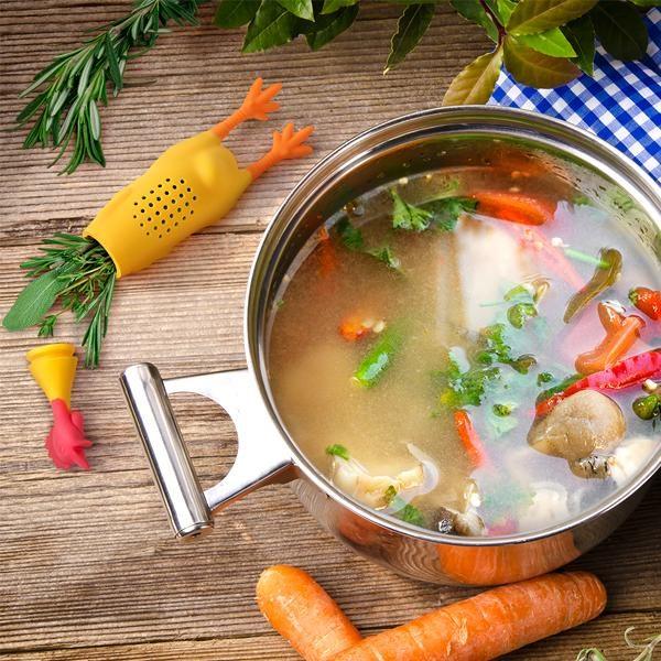 Infuzor Supă Le Crock Coq Chicken